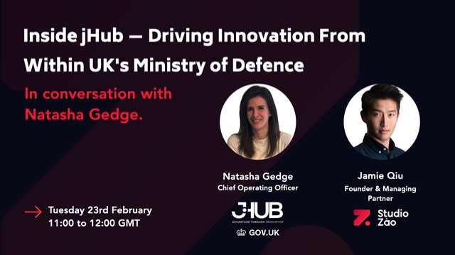 Inside jHub - Driving Innovation From Within UK's Ministry of Defence