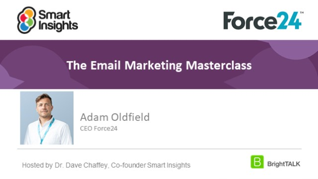 The Email Marketing Masterclass