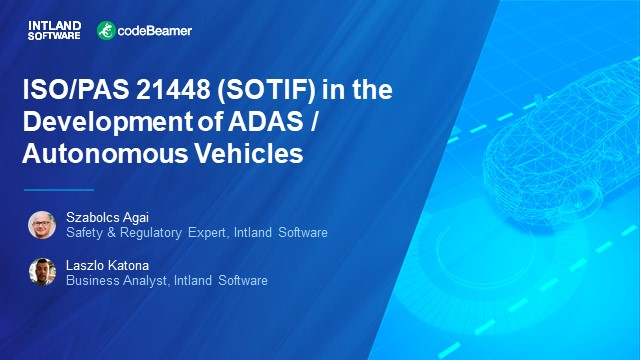 ISO/PAS 21448 (SOTIF) in the Development of ADAS and Autonomous Vehicles