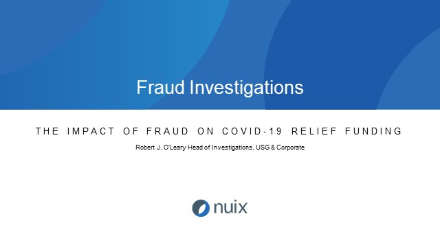 Exploring a Sample Government Fraud Use Case