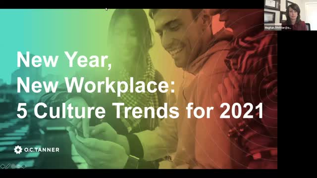 New Year, New Workplace: 5 Culture Trends for 2021