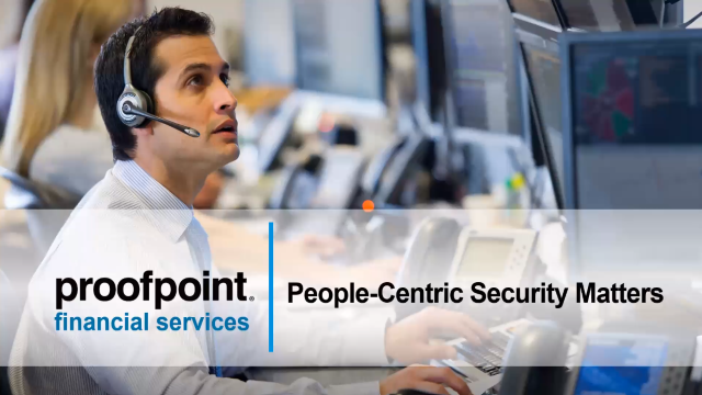 A People-Centric Security Model for Financial Services