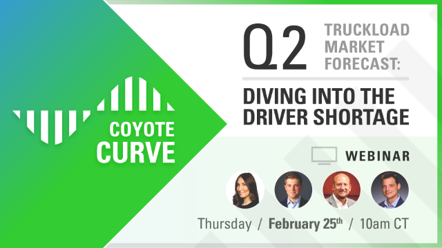 Q2 Coyote Curve Truckload Market Forecast: Diving into the Driver Shortage