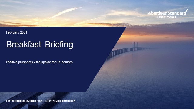 Breakfast briefing: Positive prospects - the upside for UK equities