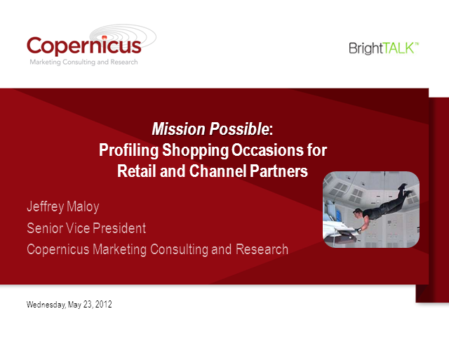 Mission Possible: Profiling Shopping Occasions to Maximize Sales