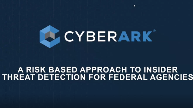 Federal Agencies: A Risk Based Approach to Insider Threat Detection
