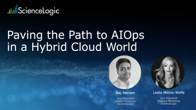 Paving the Path toAIOps in aHybrid Cloud World