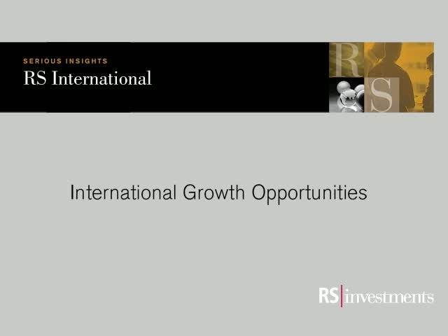 RS International Growth Opportunities