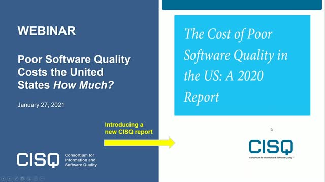 Poor Software Quality Costs the US How Much?