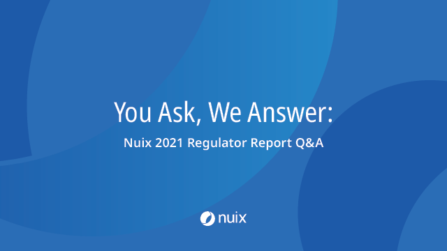 You Ask, We Answer: Nuix 2021 Regulator Report Q&A (APAC)