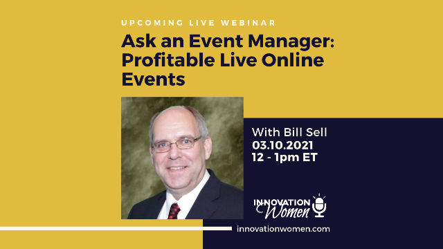 Ask An Event Manager: Profitable Live Online Events