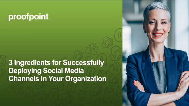 3 Ingredients for Successfully Deploying Social Media Channels