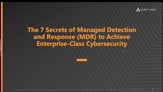 The 7 Secrets of Managed Detection and Response (MDR)