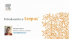 Introducción a Scopus
