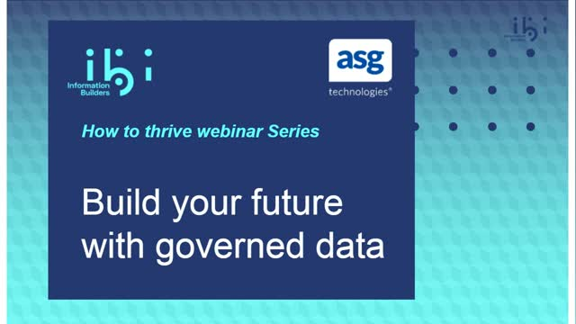 Build Your Future with Governed Data