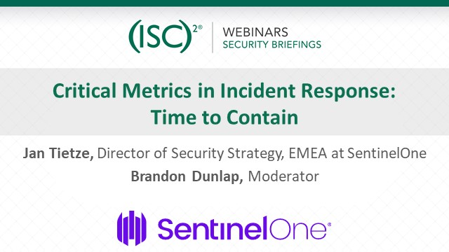 Critical Metrics in Incident Response:Time to Contain