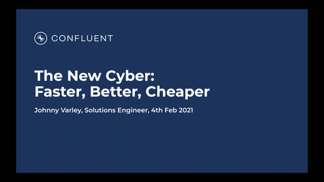 The New Cyber: Faster, Better, Cheaper
