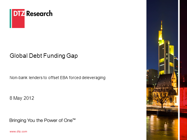 The Debt Funding Gap – May 2012