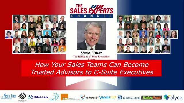 How Your Sales Teams Can Become Trusted Advisors to C-Suite Executives