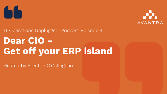 IT Operations Unplugged – Get off your ERP island