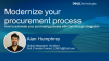 Modernize your procurement process:  How to automate your purchasing with Dell