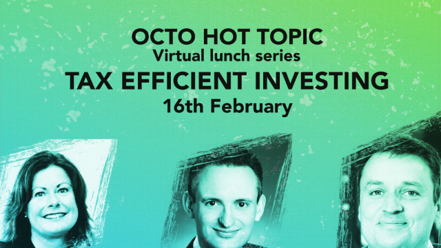 HOT TOPIC: Tax Efficient Investing