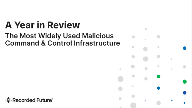 2020's Most Widely Used Malicious Command & Control Infrastructure