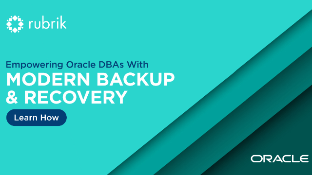 Empowering Oracle DBAs with Modern Backup and Recovery
