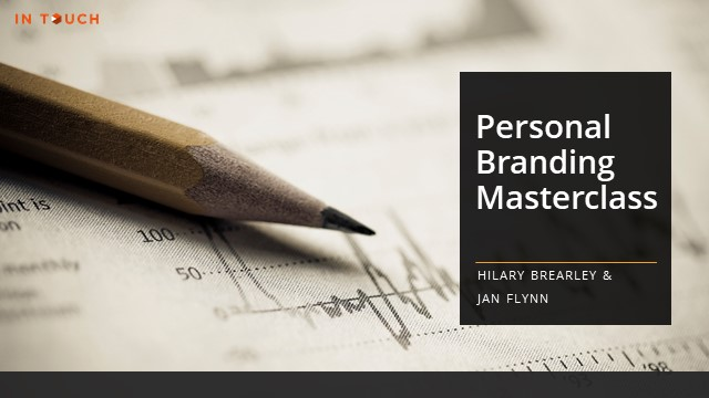 In Touch Masterclass: Personal Branding