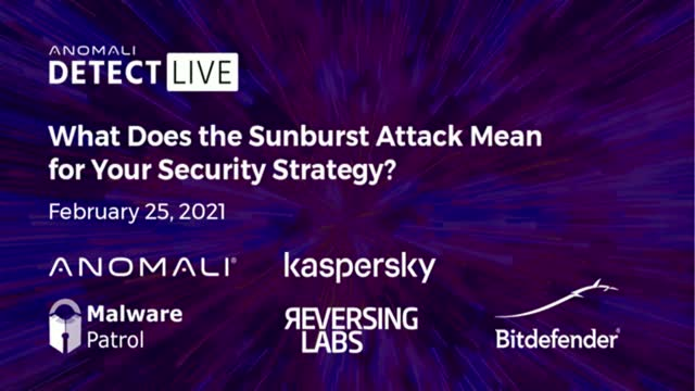 What Does the Sunburst Attack Mean for Your Security Strategy?