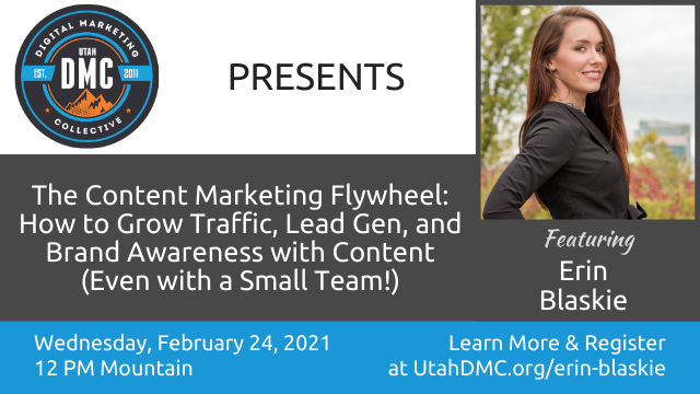 The Content Marketing Flywheel: How to Grow Traffic, Lead Gen, & Brand Awareness