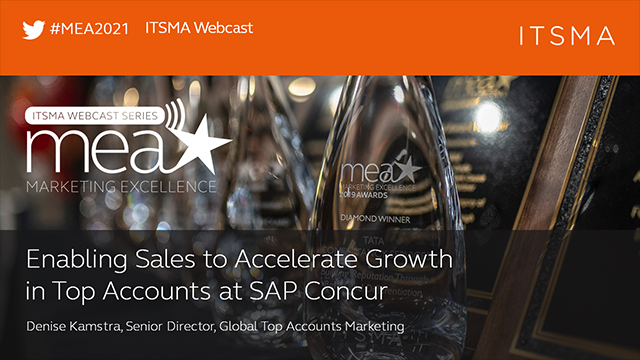 Enabling Sales to Accelerate Growth in Top Accounts at SAP Concur