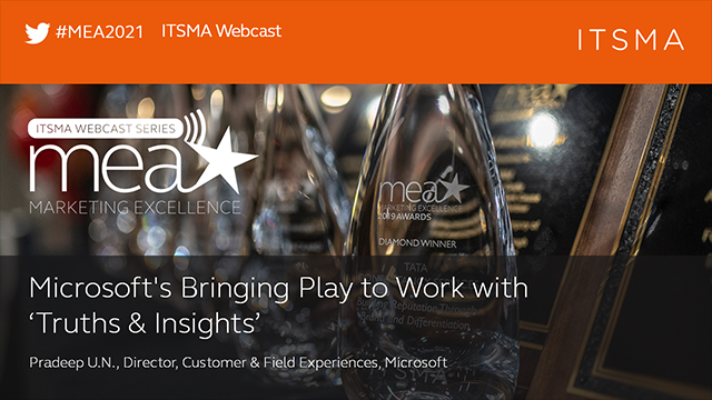 Microsoft's Bringing Play to Work with 'Truths & Insights'