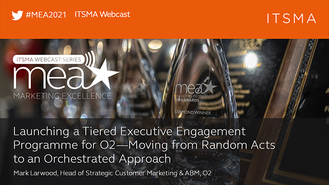 Launching a Tiered Executive Engagement Programme for O2