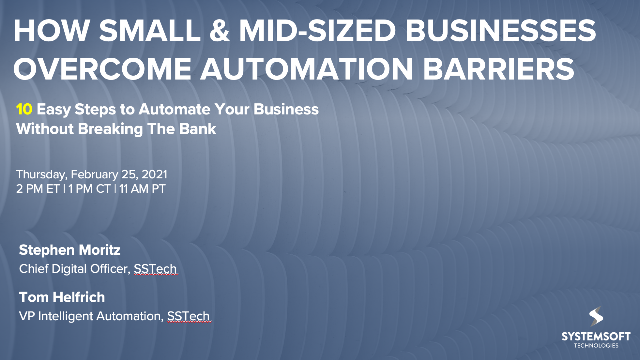 How Small & Mid-sized Businesses Overcome Automation Barriers
