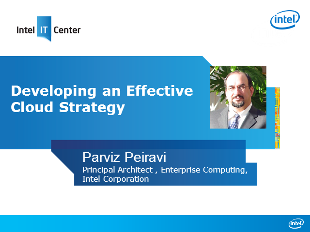 Developing an Effective Cloud Strategy