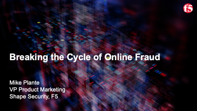 Breaking the Cycle of Online Fruad