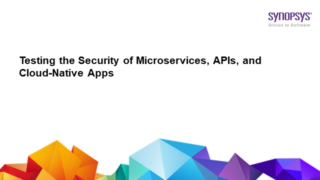 Testing security of micro-services, APIs and cloud-native apps