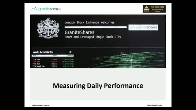 Measuring Performance of Short and Leverage ETPs