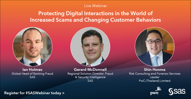 Protecting Digital Interactions in the World of Increased Scams