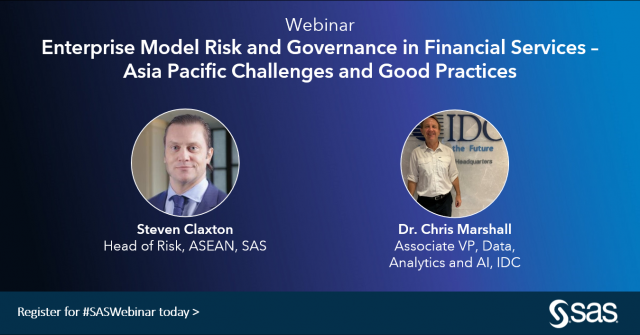 Enterprise Model Risk and Governance in Financial Services in APAC
