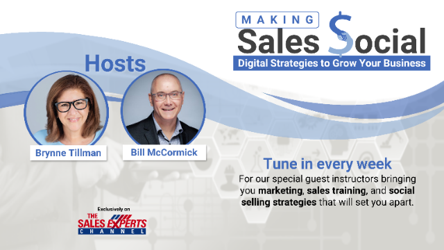 Making Sales Social: Digital Strategies to Grow Your Business - Episode 12