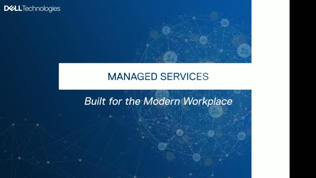 Managed services built for the modern workplace