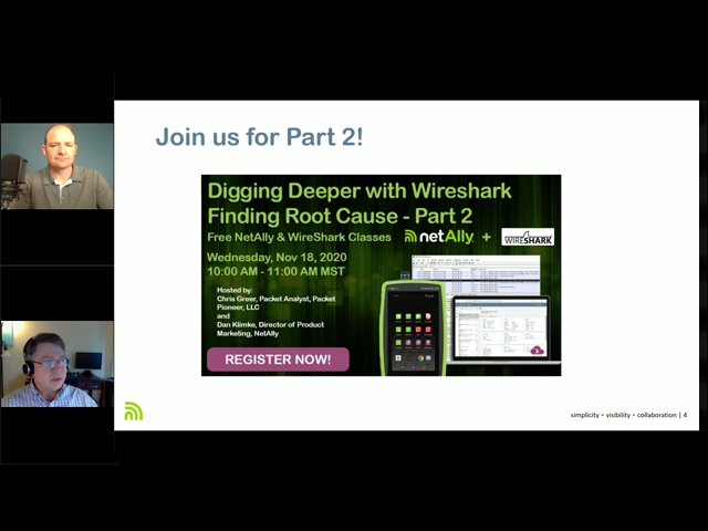 Digging Deeper with WireShark - Finding Root Cause - Part 2