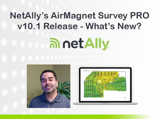 What's new with the AirMagnet Survey PRO?