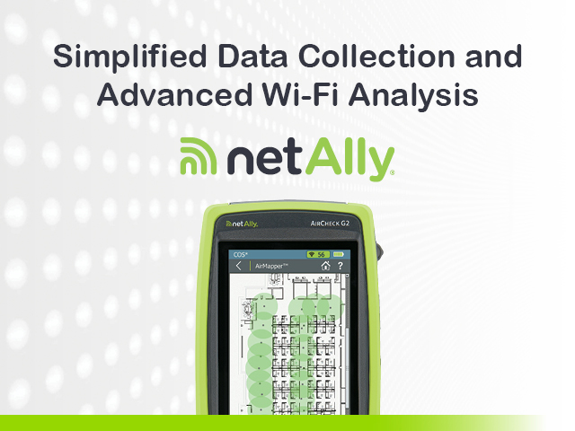 Simplified Data Collection and Advanced Wi-Fi Analysis with AirMagnet Survey PRO