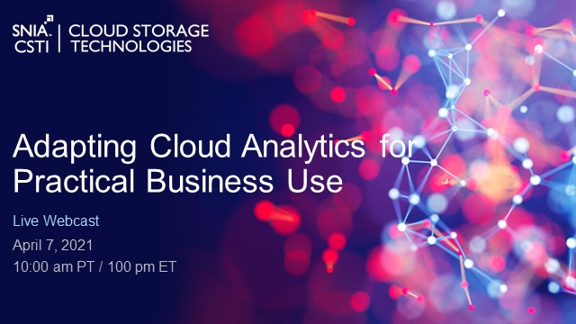 Adapting Cloud Analytics for Practical Business Use