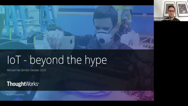 IoT - Beyond the Hype (in German)