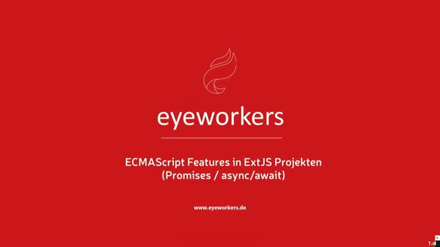 ECMAScript Features in ExtJS-Projekten - Teil 3