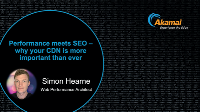 Performance meets SEO – why your CDN is more important than ever